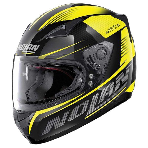 Integral Nolan N60 5 Motrico Glossy Black Yellow 45