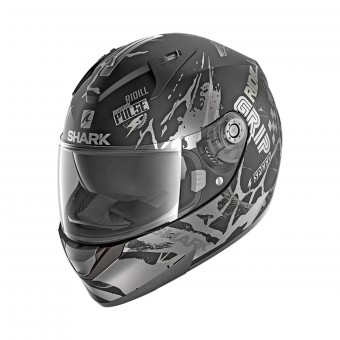Casque Integral Shark Ridill 1.2 Drift-R Mat KAS