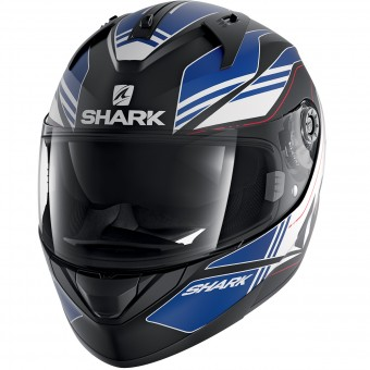 Casque Integral Shark Ridill Tika Mat KBW