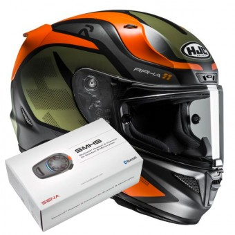 Casque Integral HJC RPHA 11 Deroka MC7SF