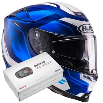 HJC casco Moto Rpha 70/Grandal MC2 azul//blanco