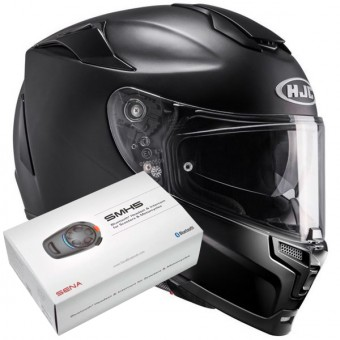 Casque Integral HJC RPHA 70 Semi Mat Black