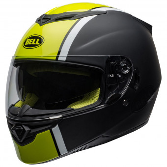 Casque Integral Bell RS-2 Rally Hi Viz Yellow Black White