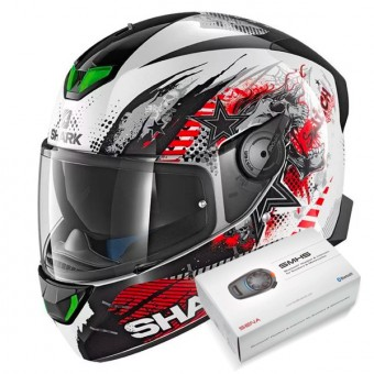 Casque Integral Shark Skwal 2 Switch Rider 1 WKR