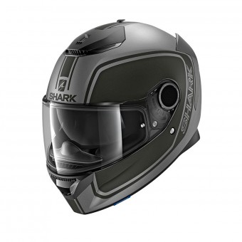 Casque Integral Shark Spartan 1.2 Priona Mat AKA