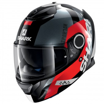 Casque Integral Shark Spartan Apics KRA