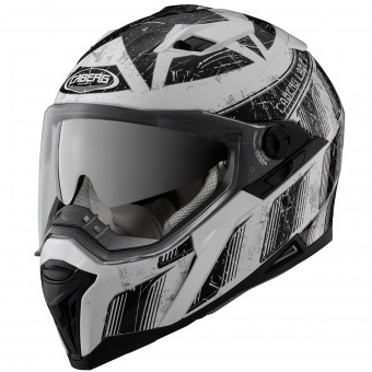Casque Integral Caberg Stunt Steez White Black