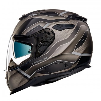 Casque Integral Nexx SX.100 I.Flux Black Matt