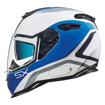 Casque Integral Nexx SX.100 Popup Azul