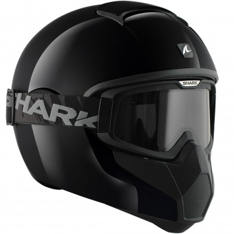 Casque Integral Shark Vancore Blank BLK