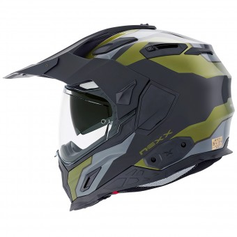 Casque Integral Nexx X.D1 Baja Green Military