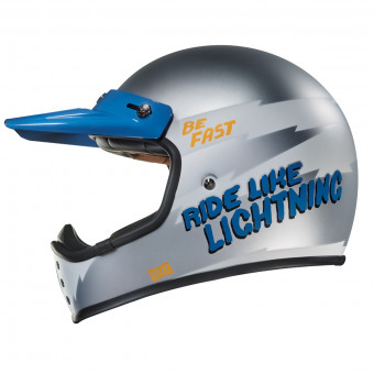 Casque Integral Nexx X.G200 Star Race Gris Mate