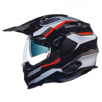 Casque Integral Nexx X.WED2 X-Patrol Silver Red