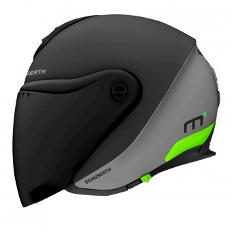 Casque jet Schuberth M1 Gravity Green
