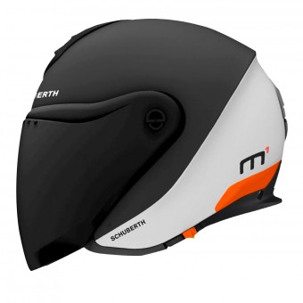 Casque jet Schuberth M1 Gravity Orange