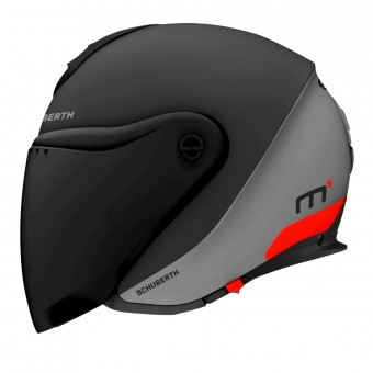 Casque jet Schuberth M1 Gravity Red