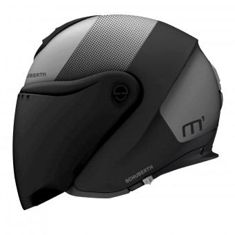 Casque jet Schuberth M1 Resonance Grey