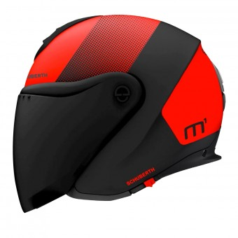 Casque jet Schuberth M1 Resonance Red