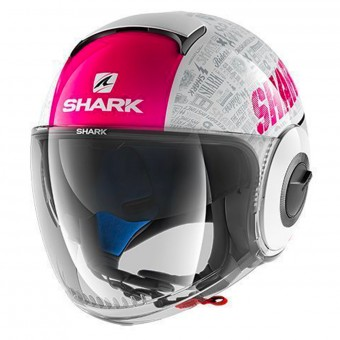 Casque jet Shark Nano Tribute RM WVA