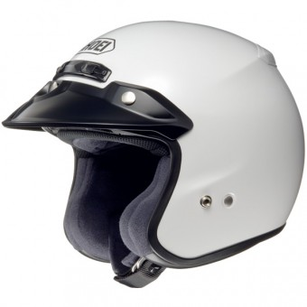 Casque jet Shoei RJ Platinum-R Blanco
