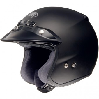 Casque jet Shoei RJ Platinum-R Negro Mate