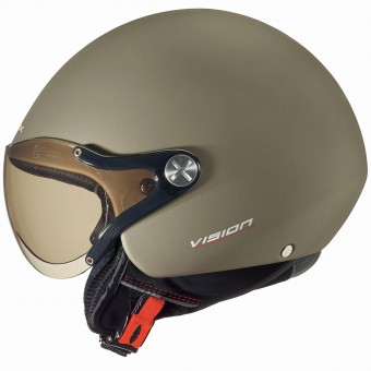 Casque jet Nexx X60 Vision plus Oro Mate