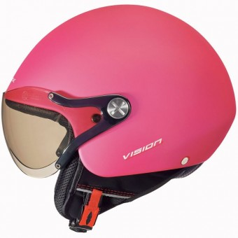 Casque jet Nexx X60 Vision plus Rosa Block Mate
