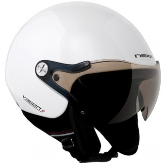 Casque jet Nexx X60 Vision plus Blanco