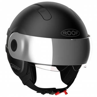Casque jet Roof Cooper Blacklight Negro Mate