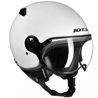 Casque jet IOTA DP04 Blanco