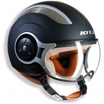 Casque jet IOTA DP06 Vented Matt Black