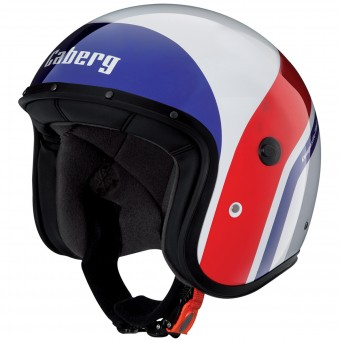 Casque jet Caberg Freeride Mistral White Blue Red