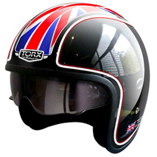 TORX casco Moto Harry Flag USA talla L