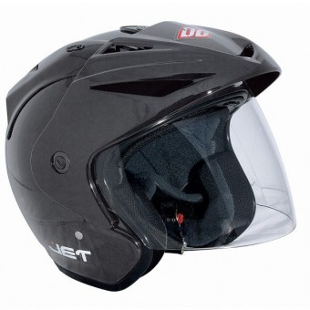 Casque jet SHOT Jet Gris
