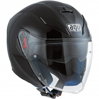 Casque jet AGV K-5 Jet Black