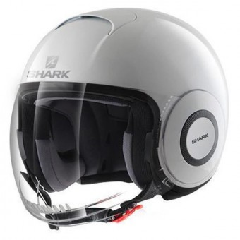 Casque jet Shark Micro Blanco