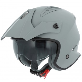 Casque jet Astone Minicross Matt Grey