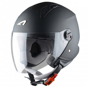 Casque jet Astone Minijet Matt Black