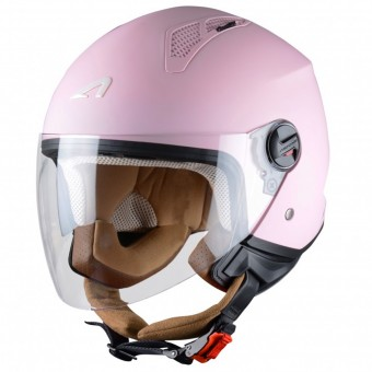 Casque jet Astone Minijet Matt Flamingo