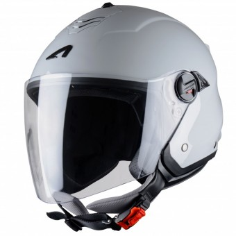 Casque jet Astone Minijet S Light Grey