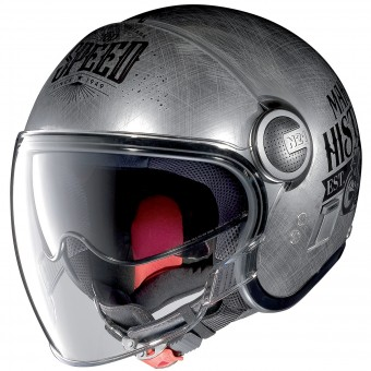 Casque jet Nolan N21 Visor Moto GP Legends Chrome 30