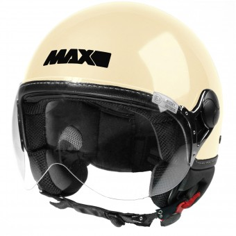Casque jet MAX Power Design Crema