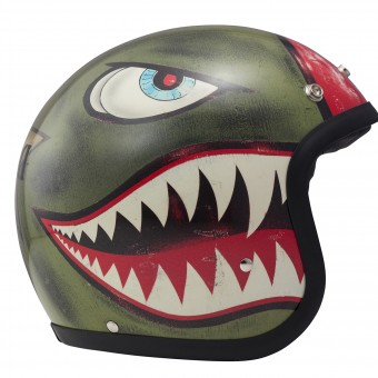 Casque jet Dmd Shark Green
