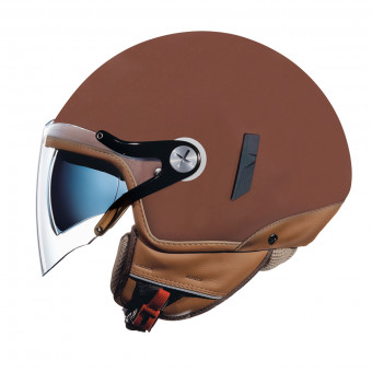 Casque jet Nexx SX.60 Jazzy Chocolate Mate