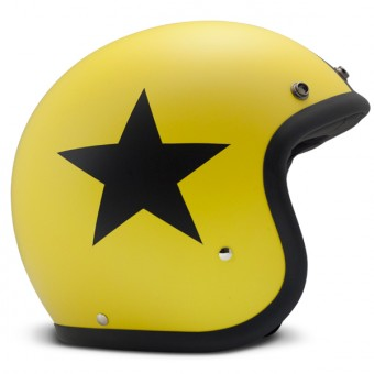 Casque jet Dmd Vintage Star Amarilllo