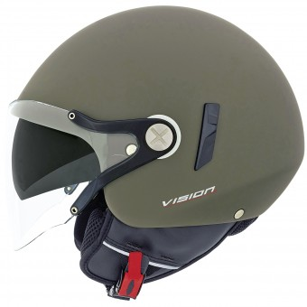 Casque jet Nexx X60 Vision Flex 2 Military Green