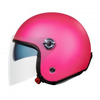 Casque jet Nexx X70 Plain Pink Matt