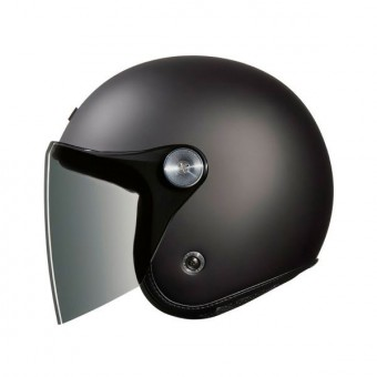 Casque jet Nexx XG.10 Clubhouse Dark Grey