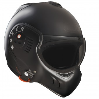 Casque Modular Roof Boxer V8 Full Black Mate