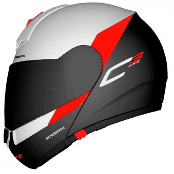 Casque Modular Schuberth C3 Pro Gravity Red